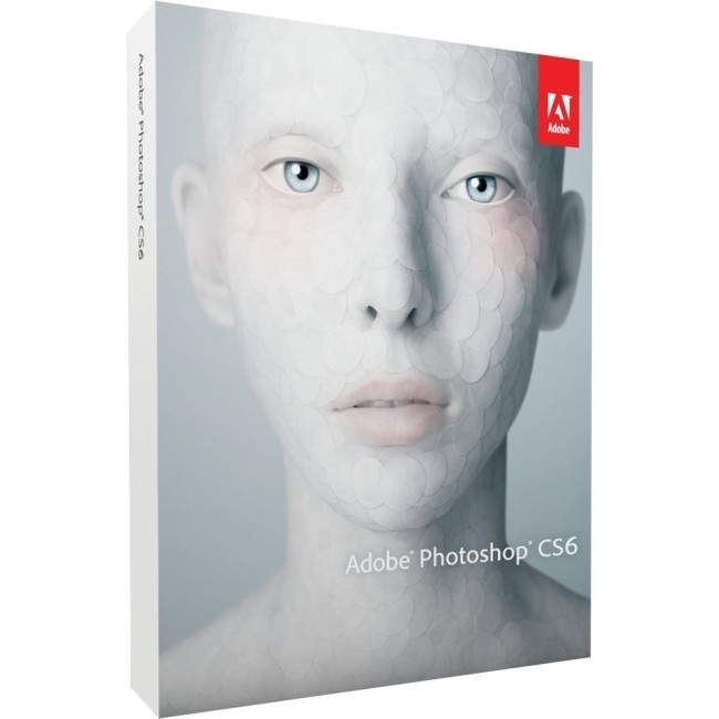 Adobe  Photoshop CS 6  - Deutsche - DVD