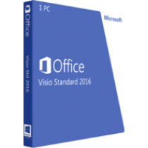 Microsoft Visio Standard 2016 - Deutsch -  Download